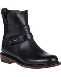 Rag & Bone Ashford Ankle Boot Black Leather - Lyst