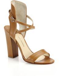 Paul Andrew Lexington Leather Sandals - Lyst