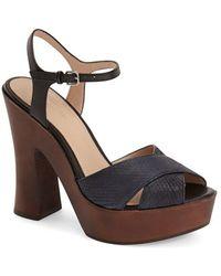 Pour La Victoire | 'dakota' Platform Sandal | Lyst