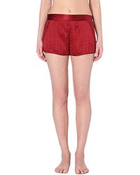 Stella McCartney - Ellie Leaping Pyjama Shorts - Lyst