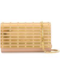 Elie Saab - Metallic Plaques Shoulder Bag - Lyst