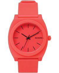 Nixon Time Teller P Neon Orange Watch - Lyst