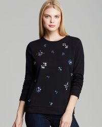 Two By Vince Camuto - Snowflake Jewel Sweatshirt - Lyst