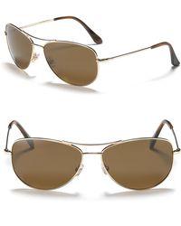 Kate Spade Ally Polarized Aviator Sunglasses - Lyst
