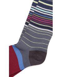 Paul Smith Road Map Socks - Lyst