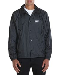 Obey The Worldwide New York Coaches Jacket - Lyst