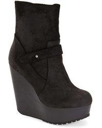 Max Studio - Fauna Wedge Boots - Lyst