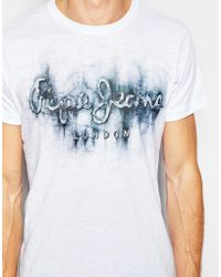 Pepe Jeans - Upmister T-shirt - Lyst