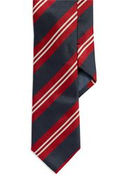 Hugo Boss Striped Silk Tie - Lyst