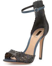 Schutz Bonyta Laser-Cut Sandal - Lyst