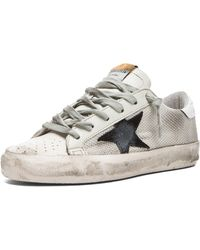 Golden Goose Deluxe Brand Super Star Low Top Bonded Poly Sneakers - Lyst