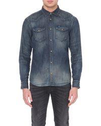 Diesel New-Sonora Slim-Fit Shirt Denim Shirt - For Men - Lyst