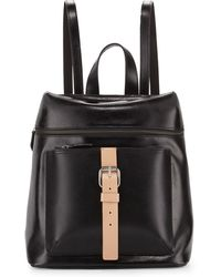 Kelsi Dagger Metro Buckle Leather Backpack - Lyst