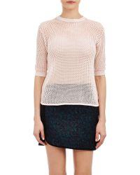 Alexander Lewis | Open-Work Stitch Sweater | Lyst
