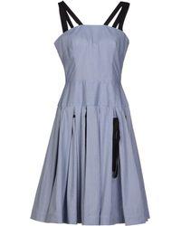 Olympia Le-Tan Knee-length Dress - Lyst