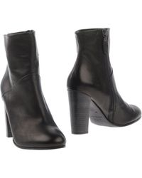 NDC Black Ankle Boots - Lyst