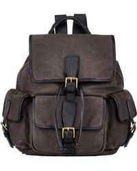 Stroble New York Flap-Front Backpack - Lyst