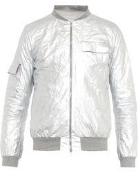 Richard Nicoll Metallic Lightweight Jacket - Lyst
