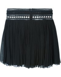 Chloé Draped Skirt blue - Lyst