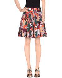 Elle Sasson | Knee Length Skirt | Lyst