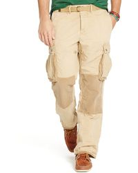 Ralph Lauren Relaxed-Fit Paratrooper Pant - Lyst