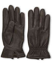 Joseph Abboud | Jospeh Abboud Cashmere Lined Leather Gloves | Lyst