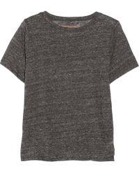 Enza Costa Slub Cotton T-shirt - Lyst