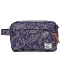Herschel Supply Co. Chapter Wash Bag - Blue - Lyst