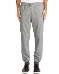 Vince Two Tone Jogger Trouser - Lyst
