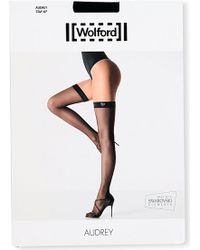 Wolford Audrey Matte- Stay-ups - Lyst