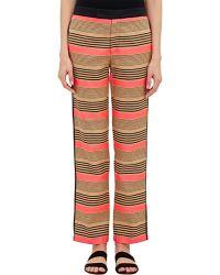 Sea Basket-Weave Trousers multicolor - Lyst