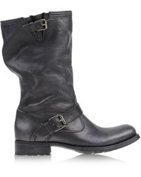 NDC Gray Ankle Boots - Lyst