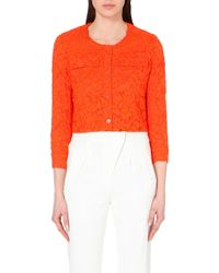 Sandro Vanny Lace Jacket - For Women - Lyst