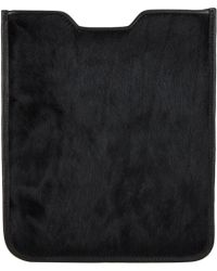 Barneys New York Haircalf Ipad® Sleeve - Lyst