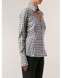 Vivienne Westwood Red Label Checkered Shirt - Lyst