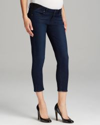 Paige Maternity Jeans Kylie Crop in Alexis - Lyst
