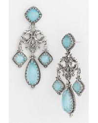 Konstantino 'Aegean' Chandelier Earrings - Lyst