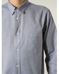 Golden Goose Deluxe Brand Blue 'Flow' Shirt - Lyst