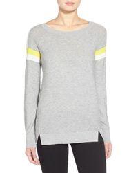 Trouvé | Stripe Crewneck Sweater | Lyst