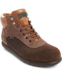 Camper Brown Pelotas Boots - Lyst