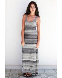 Goddis Login Maxi Knit Dress - Lyst