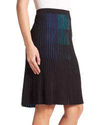 Elie Tahari Ronna Sweater Skirt blue - Lyst