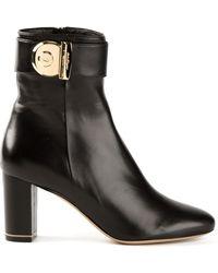 Ferragamo Rupert Ankle Boots - Lyst