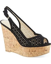 Nine West Axey Wedge Sandals - For Women - Lyst