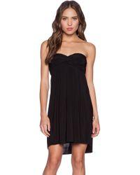 T-bags - Braided Back Dress - Lyst
