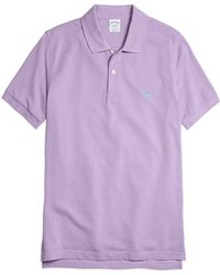 Brooks Brothers Golden Fleece Slim Fit Performance Polo Shirt - Lyst