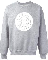 Pigalle - Basketball Crew-Neck Sweatshirt - Lyst