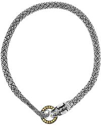 John Hardy Naga Dragon Necklace - Lyst