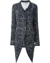 Rundholz - Long Dot Print Jacket - Lyst