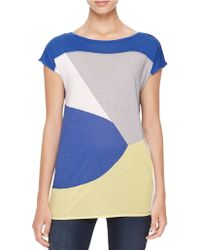 Calvin Klein Jeans Colorblock Modal Tee - Lyst